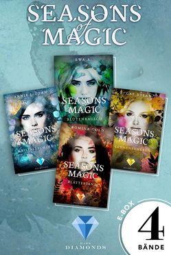 Seasons of Magic: Die E-Box mit allen vier Bänden zur Reihe (Mit Bonuskapitel »Das magische Ende«) von A.,  Ewa, Dean,  Annie J., Dylan,  Cat, Gold,  Romina