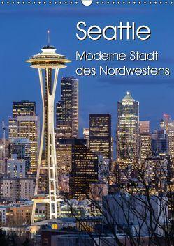 Seattle – Moderne Stadt des Nordwestens (Wandkalender 2019 DIN A3 hoch) von Klinder,  Thomas