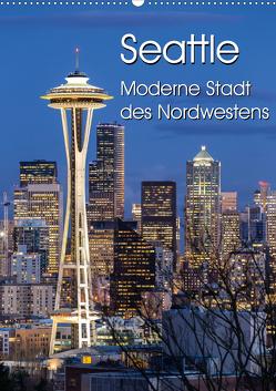 Seattle – Moderne Stadt des Nordwestens (Wandkalender 2021 DIN A2 hoch) von Klinder,  Thomas