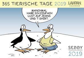 Sebby – 365 tierische Tage 2019 von Brandt,  Andreas