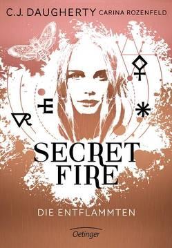 Secret Fire – Die Entflammten von Daugherty,  C.J., Klöss,  Peter, Wurm,  Jutta