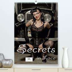 Secrets in Lace – Vintage-Dessous (Premium, hochwertiger DIN A2 Wandkalender 2021, Kunstdruck in Hochglanz) von Portenhauser,  Ralph