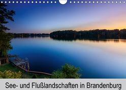 See- und Flußlandschaften in Brandenburg (Wandkalender 2018 DIN A4 quer) von Jahnke,  Thomas