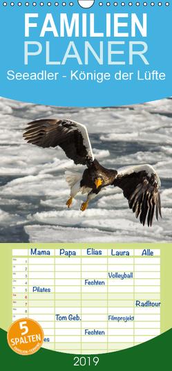 Seeadler – Könige der Lüfte – Familienplaner hoch (Wandkalender 2019 , 21 cm x 45 cm, hoch) von Schwarz Fotografie,  Thomas