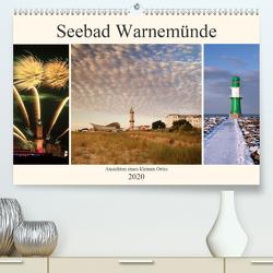 Seebad Warnemünde (Premium, hochwertiger DIN A2 Wandkalender 2020, Kunstdruck in Hochglanz) von Deter,  Thomas