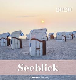 Seeblick 2020 – Postkartenkalender (16 x 17) – zum aufstellen oder aufhängen – Geschenkidee – Strand und Meer – Küste – Gadget von ALPHA EDITION