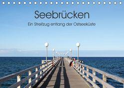 Seebrücken – Ein Streifzug entlang der Ostseeküste (Tischkalender 2019 DIN A5 quer) von Buchmann,  Oliver