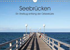 Seebrücken – Ein Streifzug entlang der Ostseeküste (Wandkalender 2019 DIN A4 quer) von Buchmann,  Oliver
