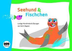 Seehund und Fischchen von Borner ,  Karin