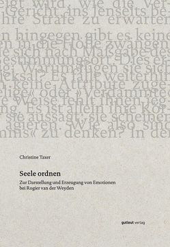 Seele Ordnen von Taxer,  Christine