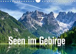 Seen im Gebirge (Wandkalender 2021 DIN A4 quer) von Barig,  Joachim