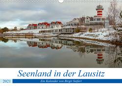Seenland in der Lausitz (Wandkalender 2021 DIN A3 quer) von Seifert,  Birgit