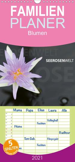 SeerosenWelt – Familienplaner hoch (Wandkalender 2021 , 21 cm x 45 cm, hoch) von Eichler,  Sandra