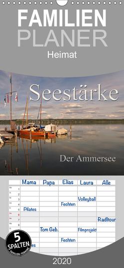 Seestärke – Der Ammersee – Familienplaner hoch (Wandkalender 2020 , 21 cm x 45 cm, hoch) von Flori0