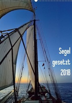Segel gesetzt 2018 (Wandkalender 2018 DIN A2 hoch) von Just,  Gerald