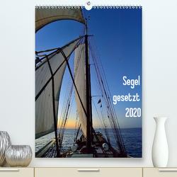 Segel gesetzt 2020 (Premium, hochwertiger DIN A2 Wandkalender 2020, Kunstdruck in Hochglanz) von Just,  Gerald