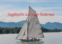 Segelboote auf dem Bodensee (Tischkalender 2019 DIN A5 quer) von DOCSKH