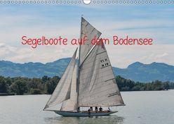 Segelboote auf dem Bodensee (Wandkalender 2019 DIN A3 quer) von DOCSKH