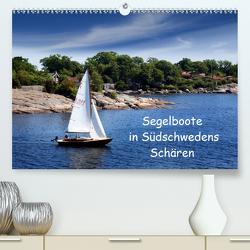 Segelboote in Südschwedens Schären (Premium, hochwertiger DIN A2 Wandkalender 2021, Kunstdruck in Hochglanz) von K.Schulz,  Eckhard