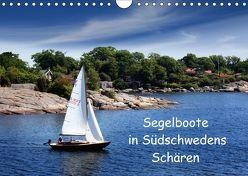 Segelboote in Südschwedens Schären (Wandkalender 2018 DIN A4 quer) von K.Schulz,  Eckhard