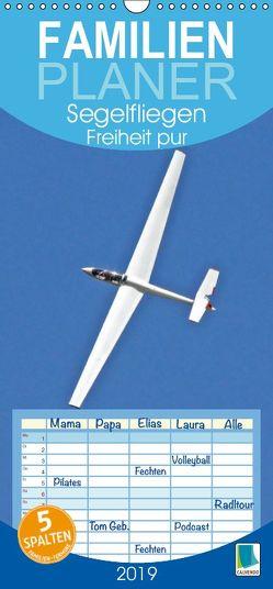 Segelfliegen: Freiheit pur (Wandkalender 2019 , 21 cm x 45 cm, hoch) von CALVENDO