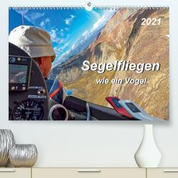 Segelfliegen – wie ein Vogel (Premium, hochwertiger DIN A2 Wandkalender 2021, Kunstdruck in Hochglanz) von Roder,  Peter