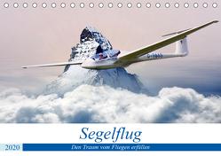 Segelflug – Den Traum vom Fliegen erfüllen (Tischkalender 2020 DIN A5 quer) von Robert,  Boris