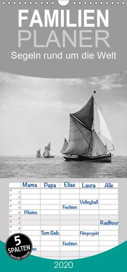 Segeln rund um die Welt – Familienplaner hoch (Wandkalender 2020 , 21 cm x 45 cm, hoch) von Images,  Timeline