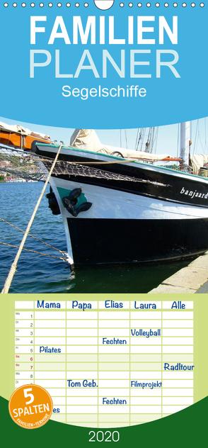 Segelschiffe – Familienplaner hoch (Wandkalender 2020 , 21 cm x 45 cm, hoch) von Thede,  Peter