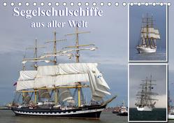 Segelschulschiffe aus aller Welt (Tischkalender 2020 DIN A5 quer) von Stoerti-md
