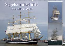 Segelschulschiffe aus aller Welt (Premium, hochwertiger DIN A2 Wandkalender 2020, Kunstdruck in Hochglanz) von Stoerti-md