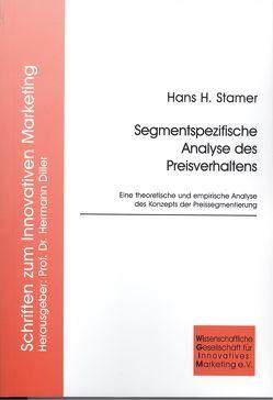 Segmentspezifische Analyse des Preisverhaltens von Stamer,  Hans H
