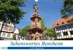 Sehenswertes Bensheim an der Bergstraße (Wandkalender 2019 DIN A3 quer) von Andersen,  Ilona