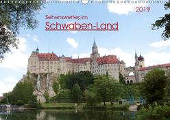 Sehenswertes im Schwaben-Land (Wandkalender 2019 DIN A3 quer) von Keller,  Angelika