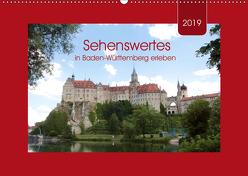 Sehenswertes in Baden-Württemberg erleben (Wandkalender 2019 DIN A2 quer) von Keller,  Angelika