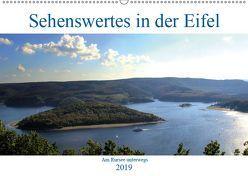 Sehenswertes in der Eifel – Am Rursee unterwegs (Wandkalender 2019 DIN A2 quer) von Klatt,  Arno