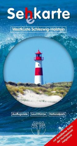 Se´h´karte Westküste Schleswig-Holstein von Drewes,  Rolf