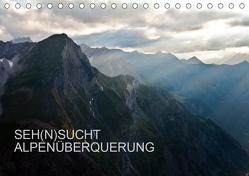 SEH(N)SUCHT ALPENÜBERQUERUNG (Tischkalender 2020 DIN A5 quer) von Matthias,  Sebastian