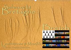 Sehnsucht Bretagne – Breizh (Wandkalender 2020 DIN A2 quer) von Sattler,  Stefan