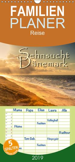 Sehnsucht Dänemark – Danmark – Familienplaner hoch (Wandkalender 2019 , 21 cm x 45 cm, hoch) von Sattler,  Stefan