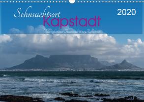 Sehnsuchtsort Kapstadt (Wandkalender 2020 DIN A3 quer) von Wüstehube,  Jeanette