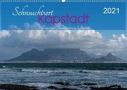 Sehnsuchtsort Kapstadt (Wandkalender 2021 DIN A2 quer) von Wüstehube,  Jeanette