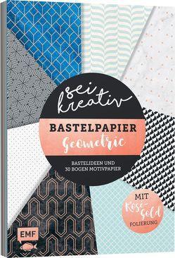 Sei kreativ! – Bastelpapier Geometric