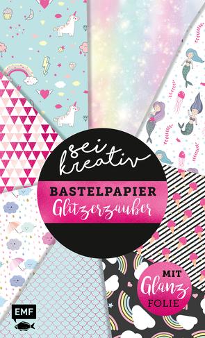 Sei kreativ! – Bastelpapier Glitzerzauber