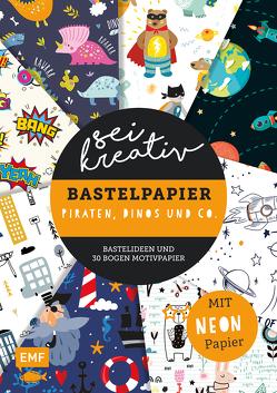 Sei kreativ! – Bastelpapier Piraten, Dinos und Co.