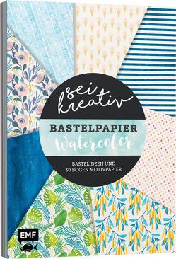 Sei kreativ! – Bastelpapier Watercolor