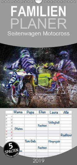 Seitenwagen Motocross – Familienplaner hoch (Wandkalender 2019 , 21 cm x 45 cm, hoch) von Roder,  Peter