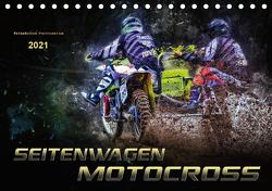 Seitenwagen Motocross (Tischkalender 2021 DIN A5 quer) von Roder,  Peter