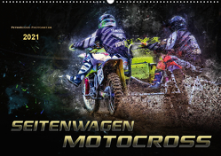 Seitenwagen Motocross (Wandkalender 2021 DIN A2 quer) von Roder,  Peter