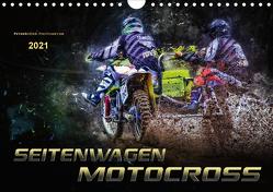 Seitenwagen Motocross (Wandkalender 2021 DIN A4 quer) von Roder,  Peter